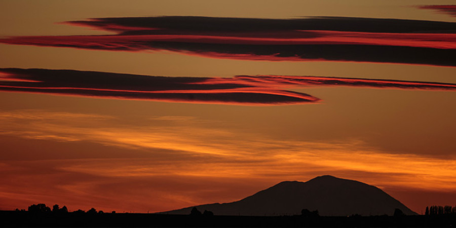 Red Mountain Sunsets…